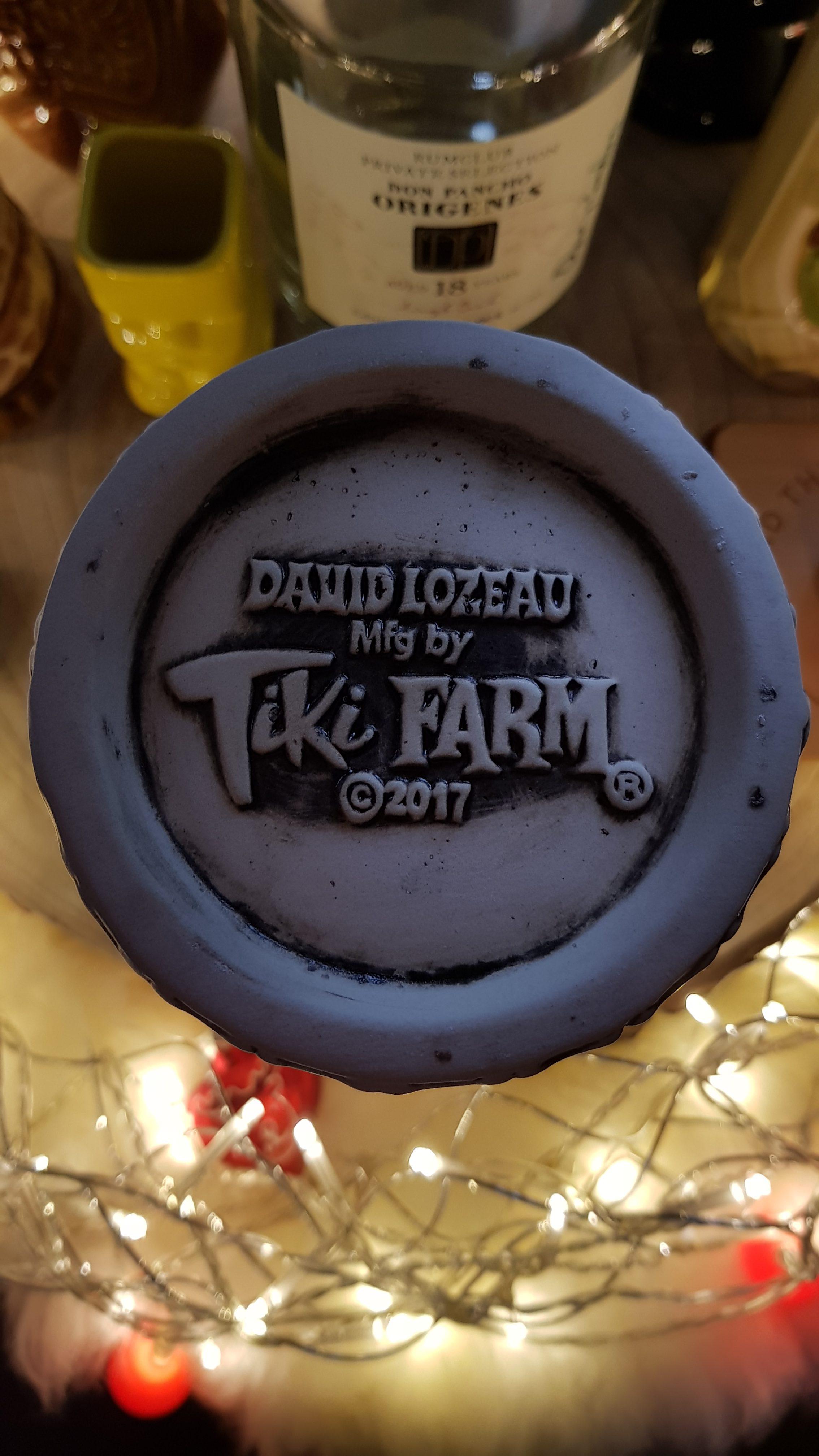Tiki Farm - AMOR Eterno SKULL GOBLET MUG - by David Lozeau