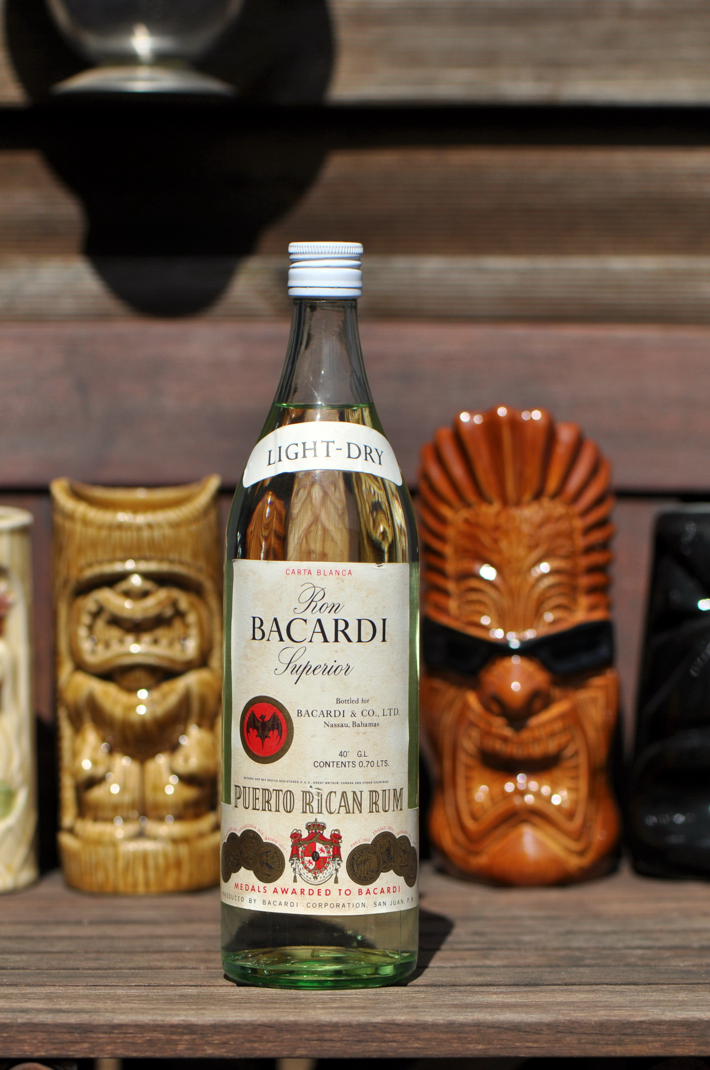 BACARDI Rum, ca. 1970