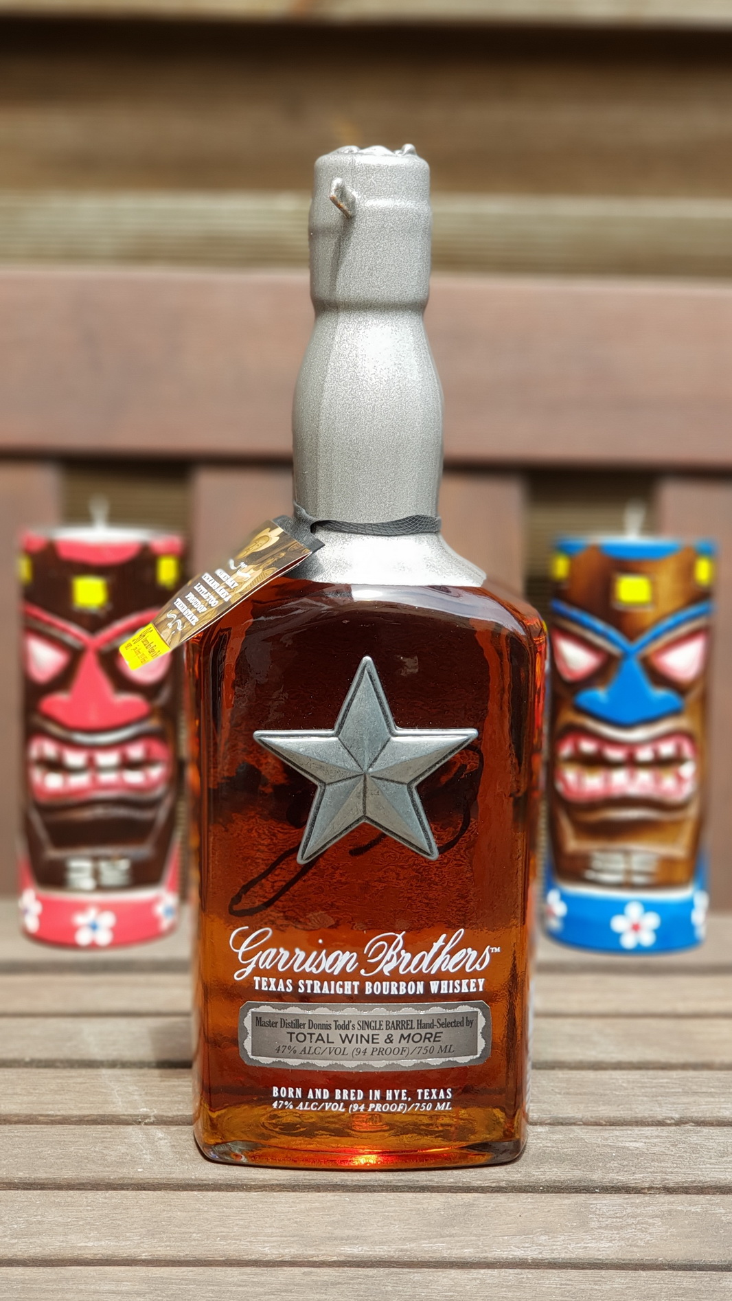 Eigenimport aus der Garrison Brothers Distillery in Hye/TX