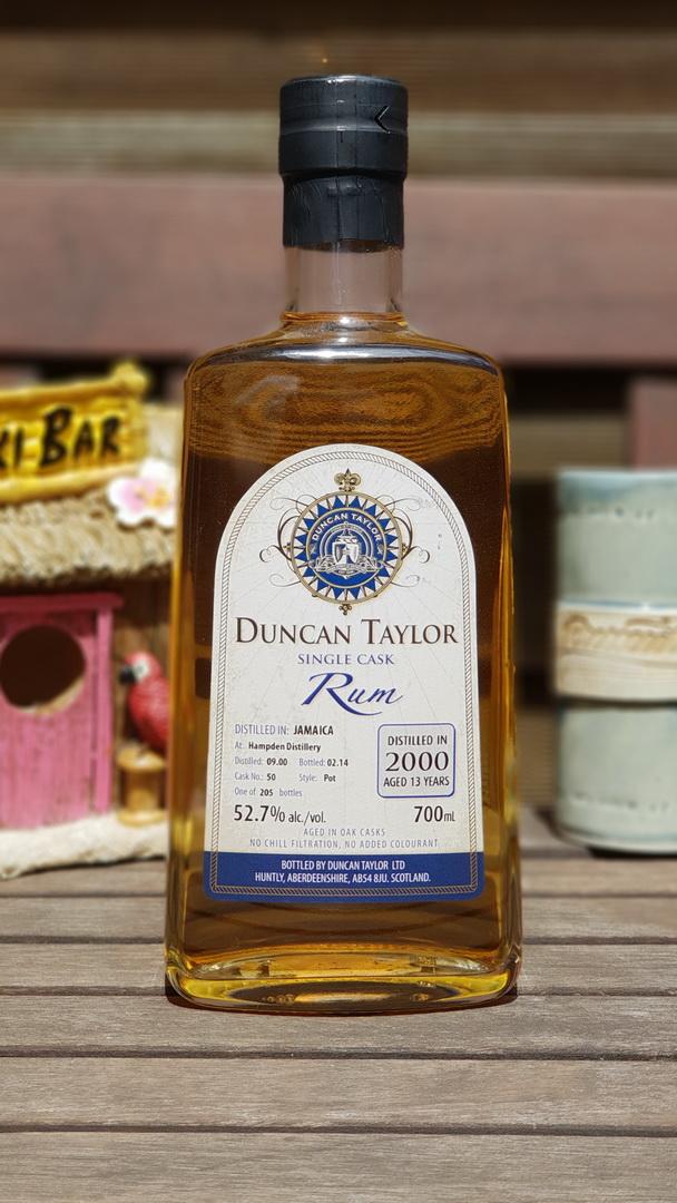 Seltener Rum aus der Hampden Distillery