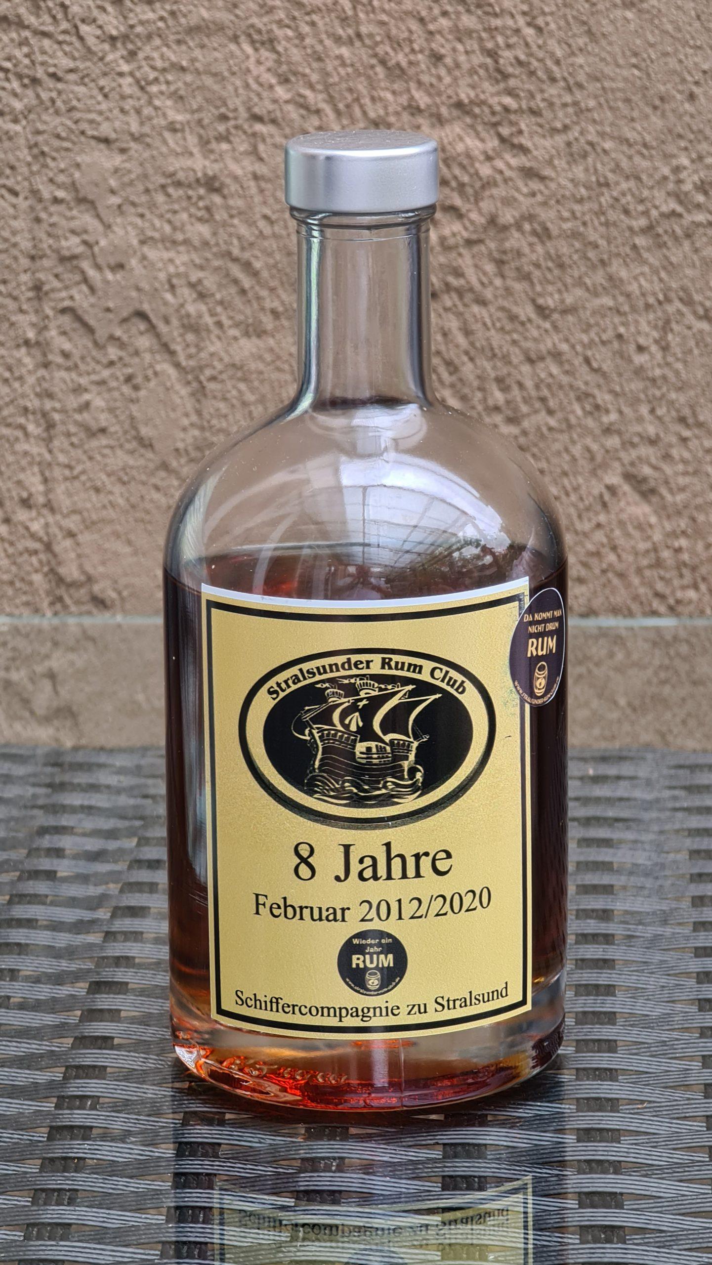 NicaraguaRum 8y 8y Ex-Bourbon76,04%VOL.